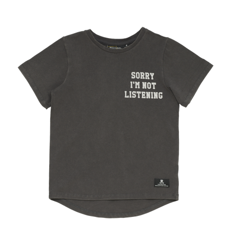 RYB Sorry Im not listening T Shirt