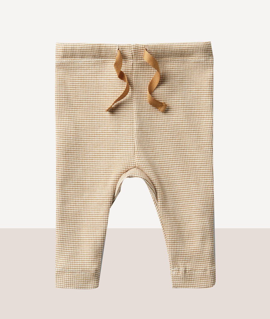 Wilson and Frenchy Caramel Rib Legging