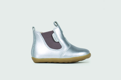 Bobux Step Up Jodphur Boot - Silver