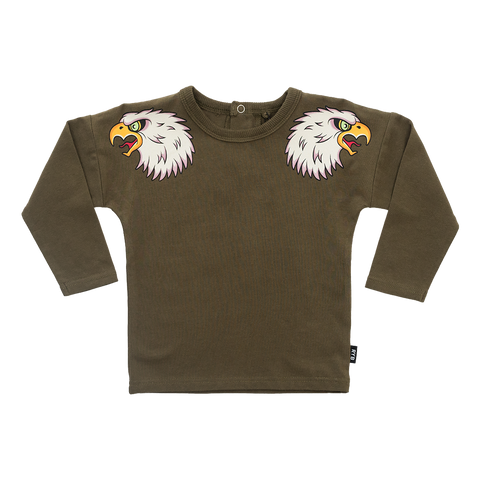 RYB Fly Like and Eagle Baby Longsleeve Tee