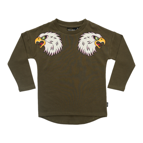 RYB Fly Like and Eagle Longsleeve Tee
