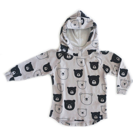 Kapow Kids Bear Club Drop Back Hoodie