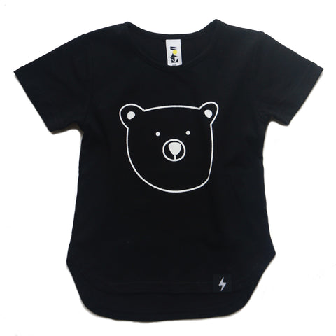 Kapow Bear Cub Drop Back T- Shirt