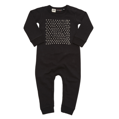 Rock Your Baby Long Sleeve Playsuit - Stitched Up