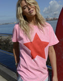 Hammill + Co Star Cuff Tee