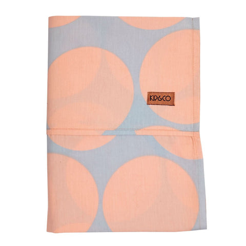 Kip & Co Big Dots Single Flat Sheet