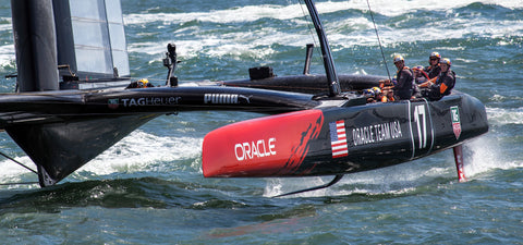 Team Oracle's Americas Cup Yacht