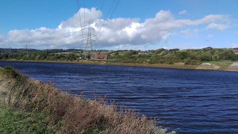 windy river tyne