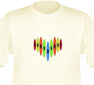 Kayak Heart T-Shirt
