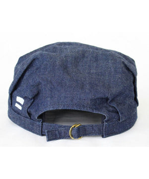 Momotaro - Caps - Denim Rail Worker Cap