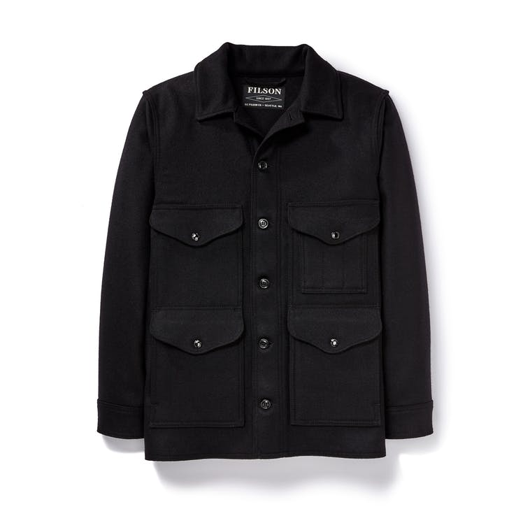 Filson - Jacket, Mackinaw Wool Cruiser, Dark Navy
