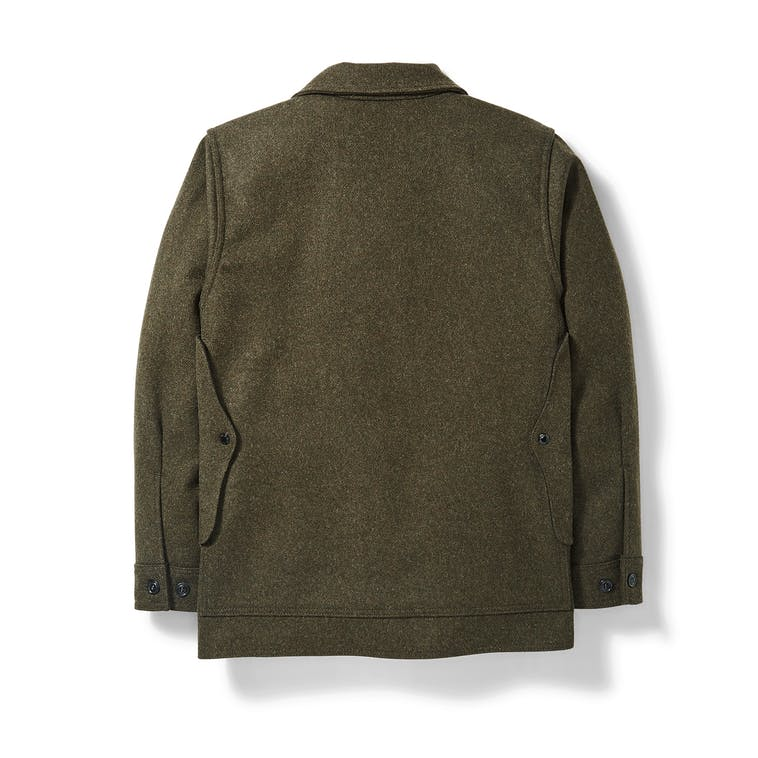 Filson - Mackinaw Wool Cruiser Forest Green