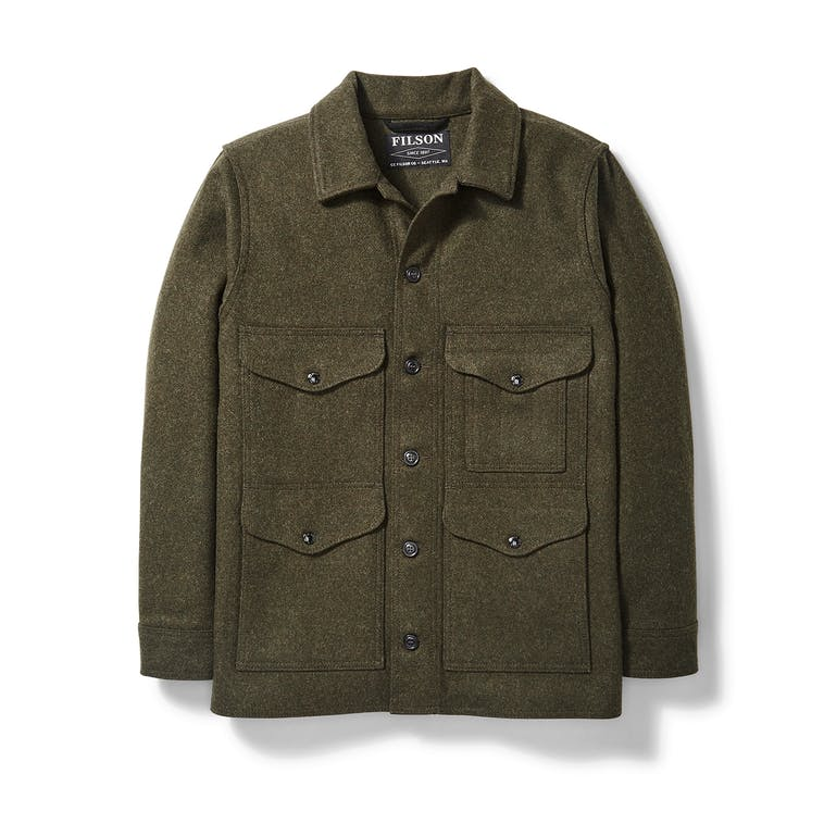 Filson - Jacket, Mackinaw Wool Cruiser, Forest Green