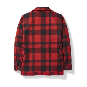 Filson Mackinaw Wool Cruiser RED/BLACK