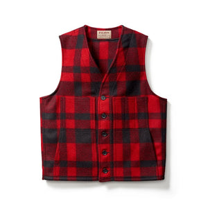 Filson - Mackinaw Wool West Red Black