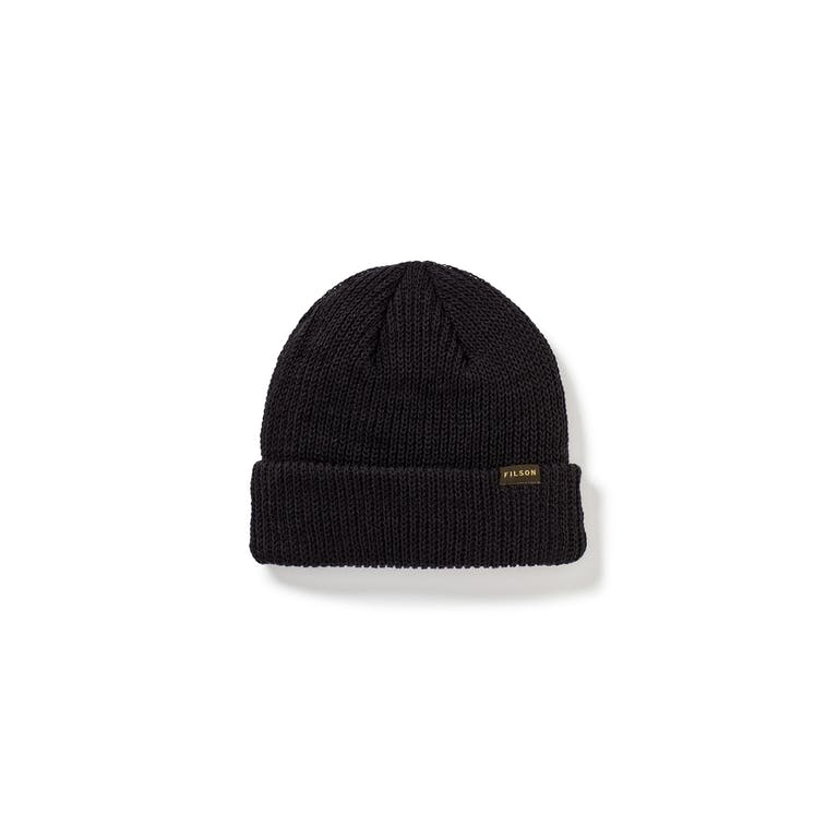 Filson - Watch Cap Black