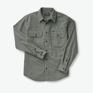 Filson - Shirt, Field Flannel, Balsam Green