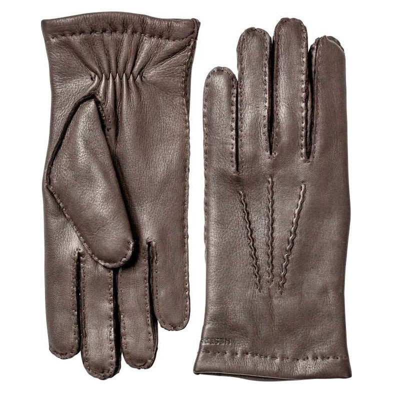 Hestra gloves - 20220 (Dark brown) - Brund