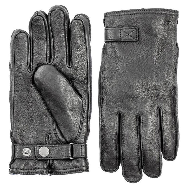 Hestra Gloves - 20320 (Deerskin Wool Terry Black) - Brund