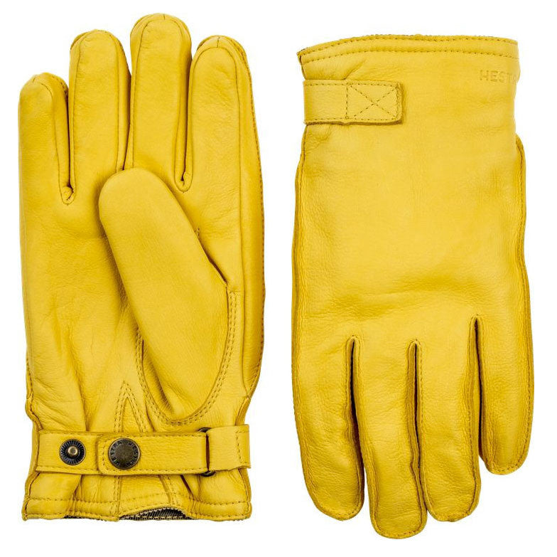 Hestra Gloves - 20320 (Deerskin Wool Terry Yellow) - Brund