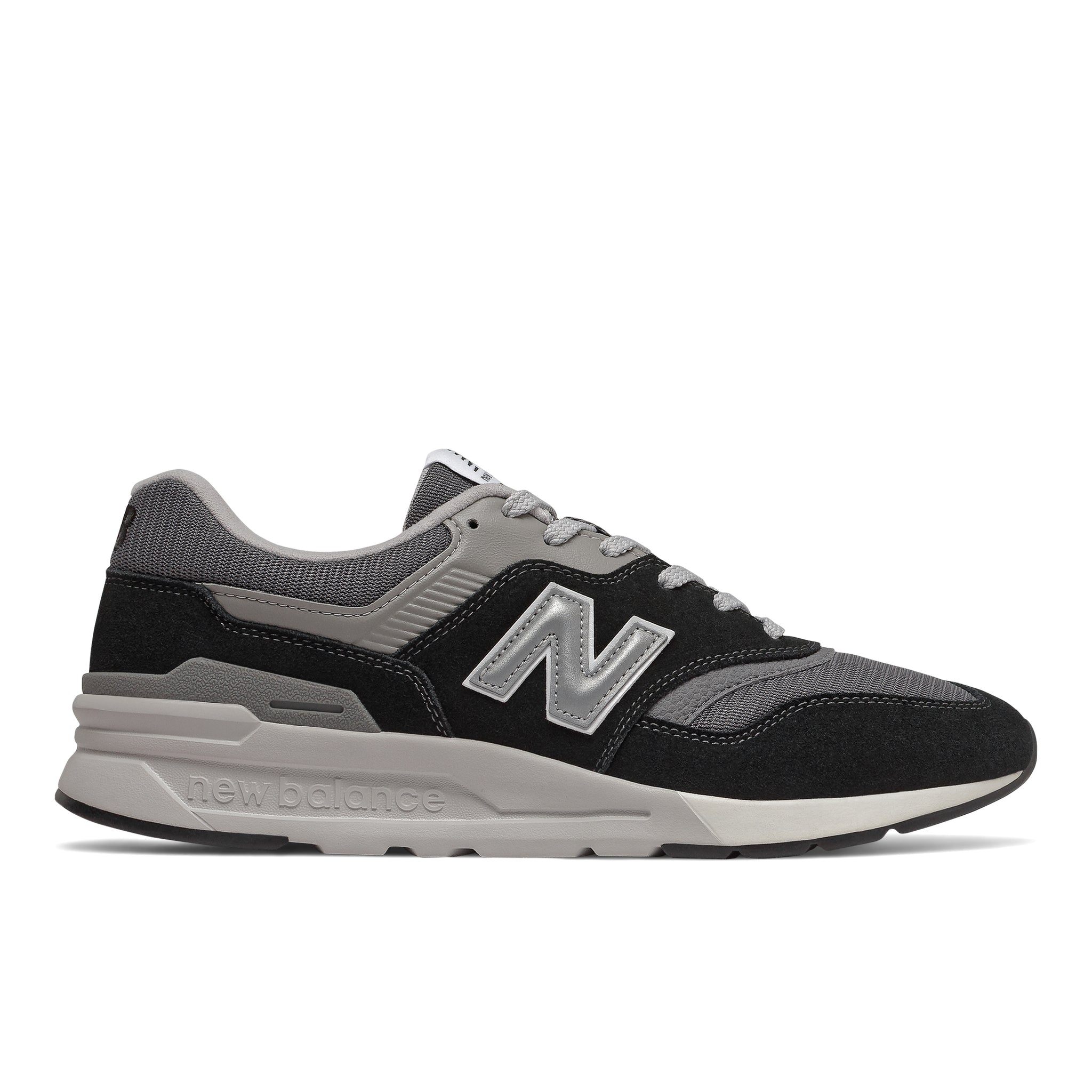 New Balance - CM997HBK, black/grey