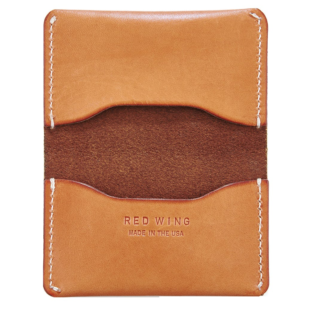 Red Wing - Goods, Card holder Wallet, Veg Tan