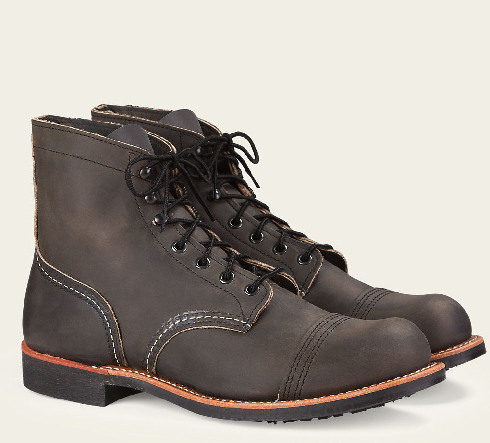 Red Wing - 8086 - Iron Ranger (Charcoal Rough & Tough)