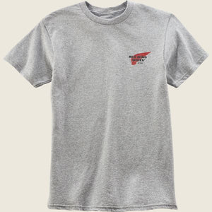 Red Wing - T-shirt Archive - Grey