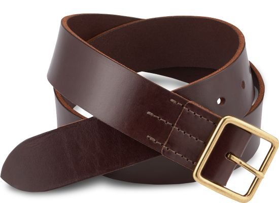 Red Wing - BELT - BROWN, VEGETABLE TANNED LEATHER