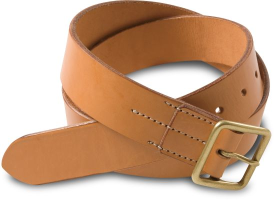 Red Wing - BELT - TAN, VEGETABLE TANNED LEATHER