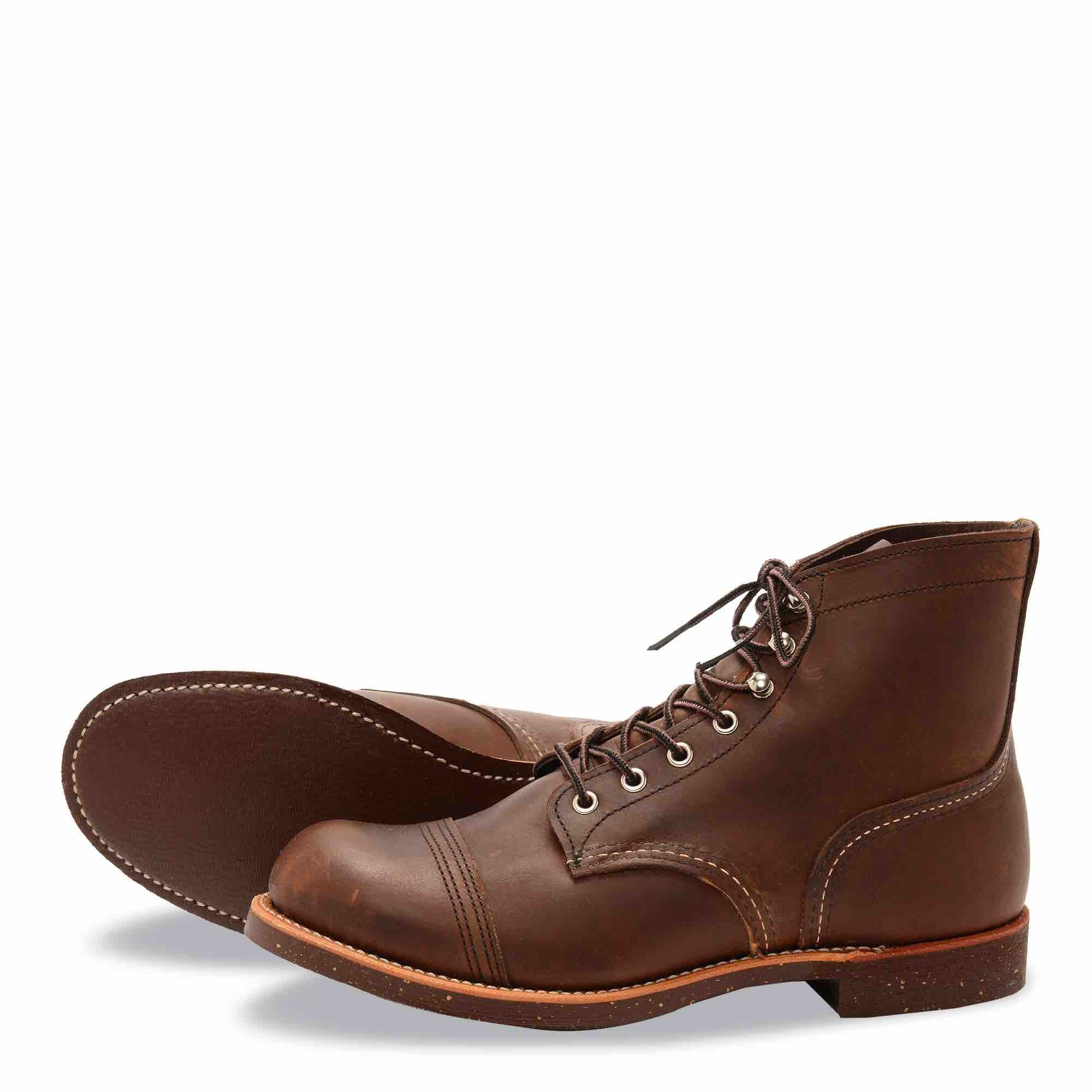 32b5abfc17e Red Wing - 8111 CORK SOLE - Iron Ranger (Amber Harness)