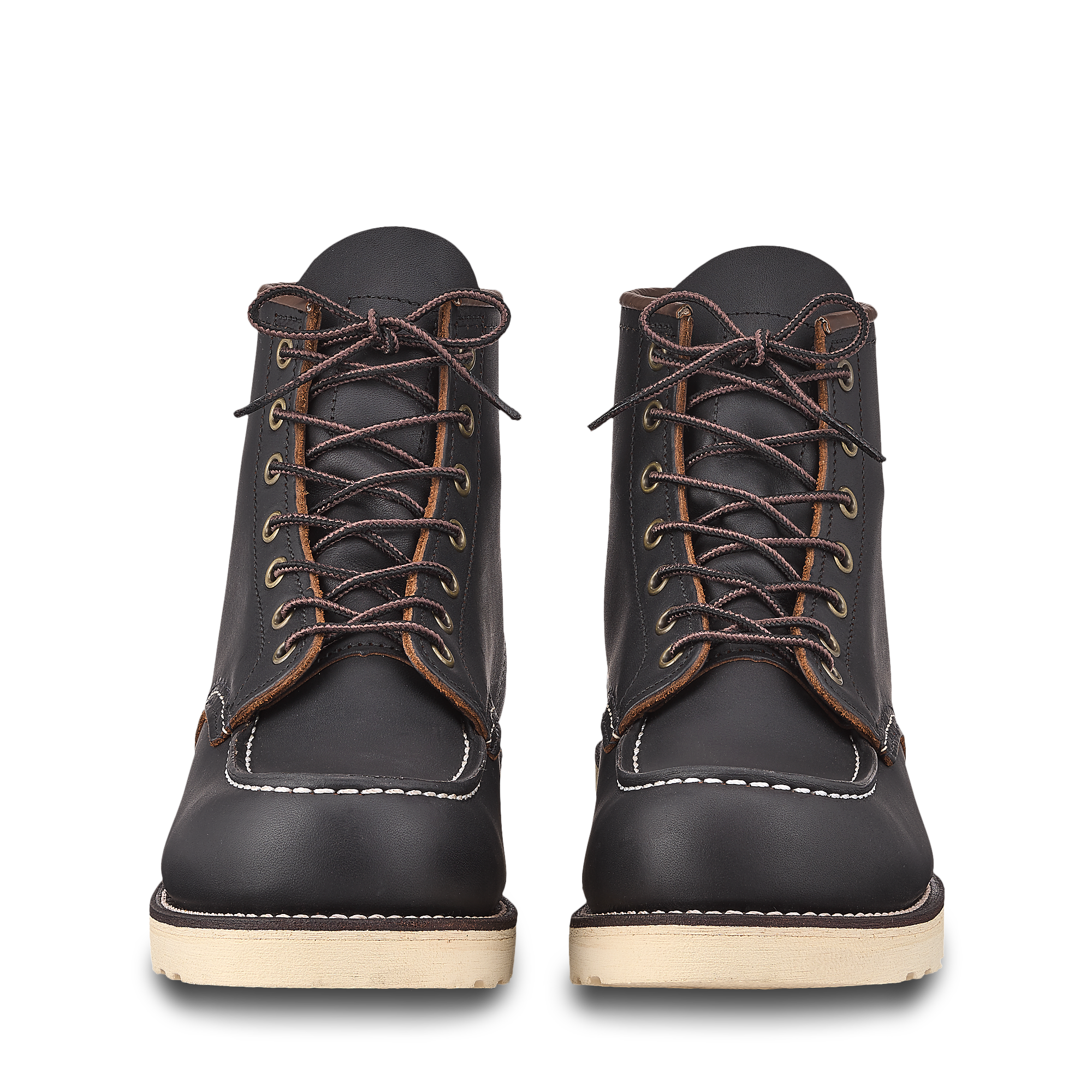 Red Wing - 8849 - Moc Toe - (Black Prairie)