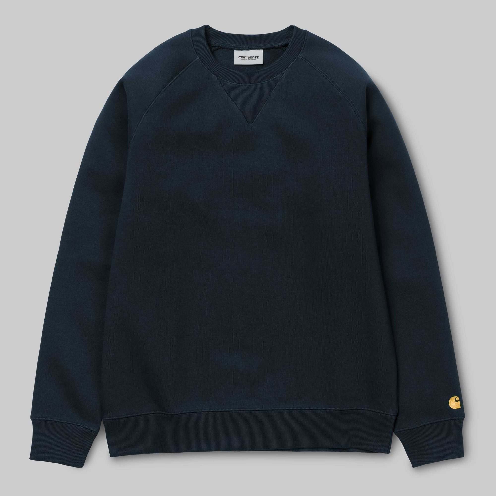 Carhartt WIP - Navy Chase Crew neck sweat