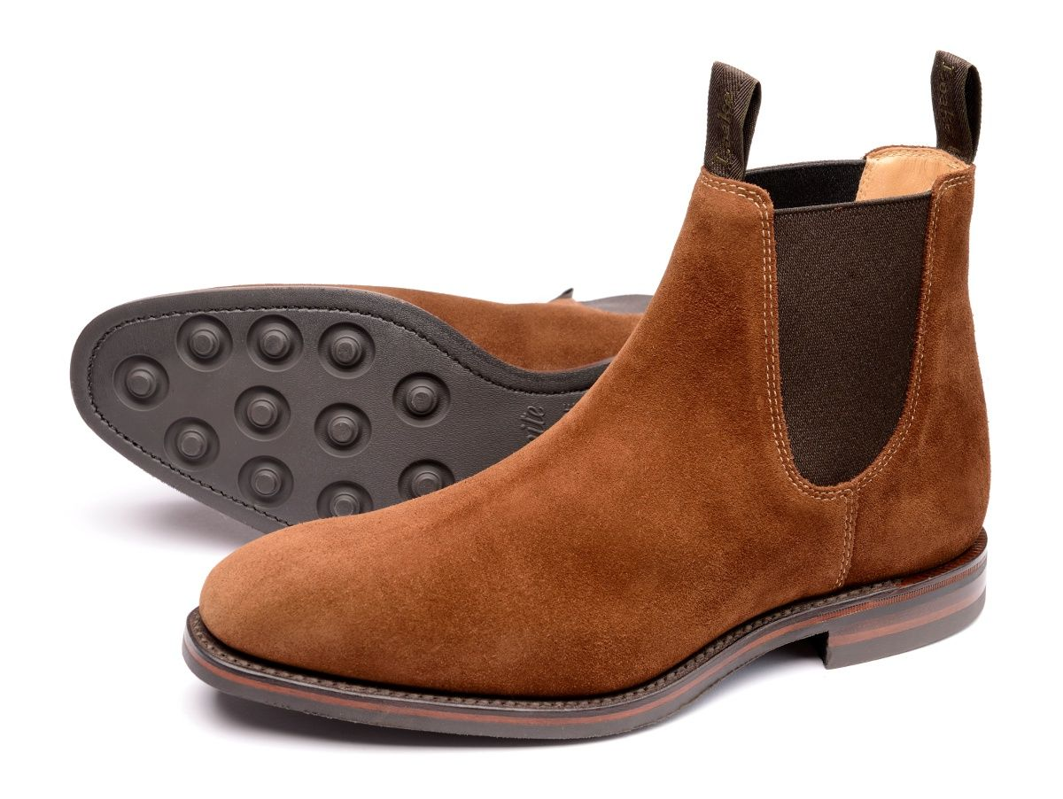Loake - Chatsworth (Brown suede)