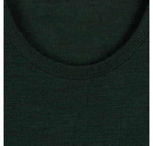 John Smedley - Lundy, Crew-neck, Racing green - Brund - 1