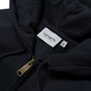 Carhartt WIP - Navy Chase Hood Zip Sweat
