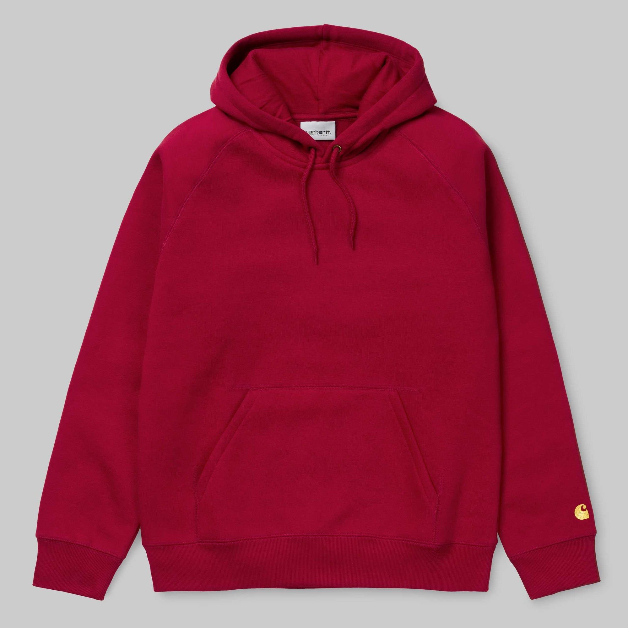 Carhartt WIP - Chase Hood Sweat Red
