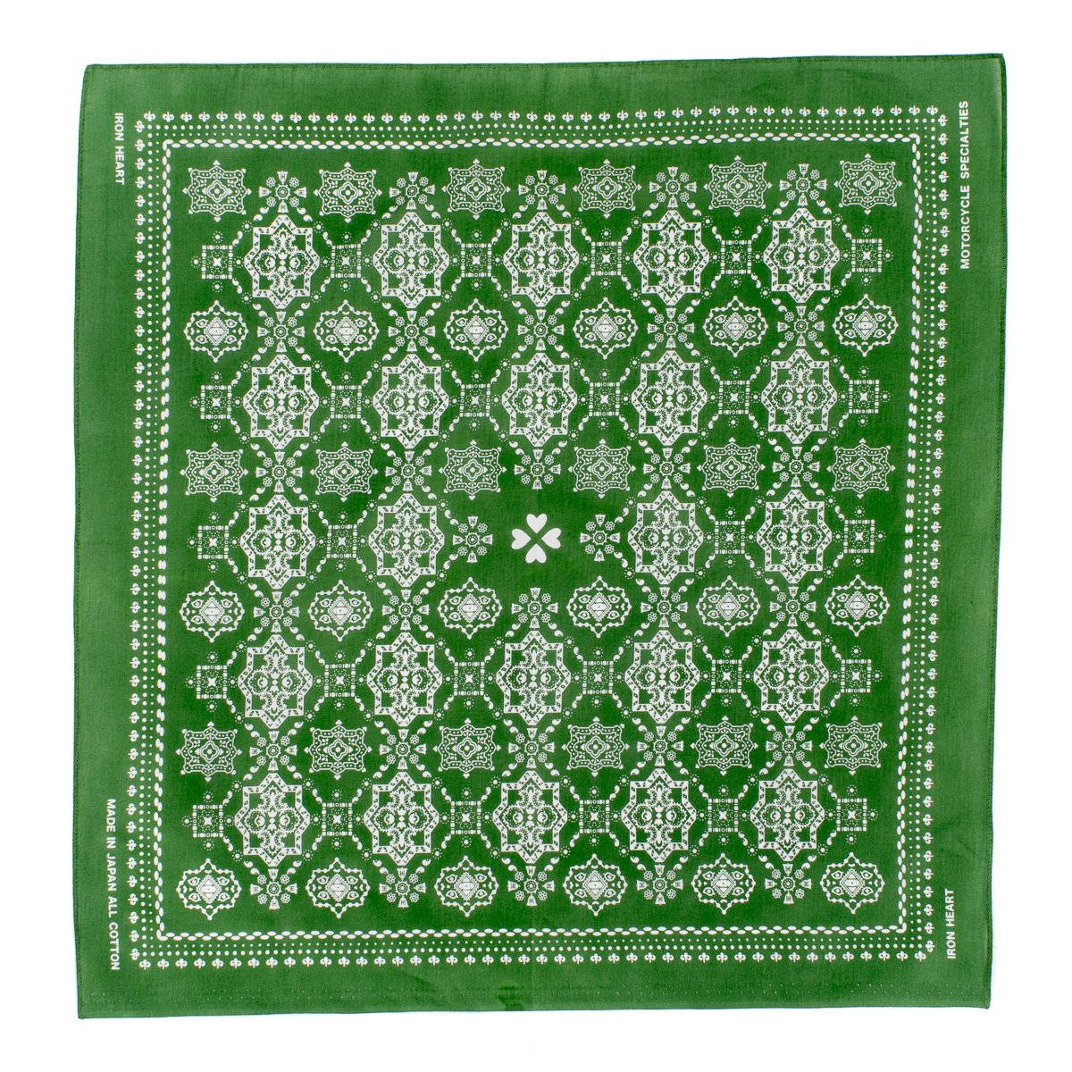 Iron Heart - Glass Green Bell print Bandana