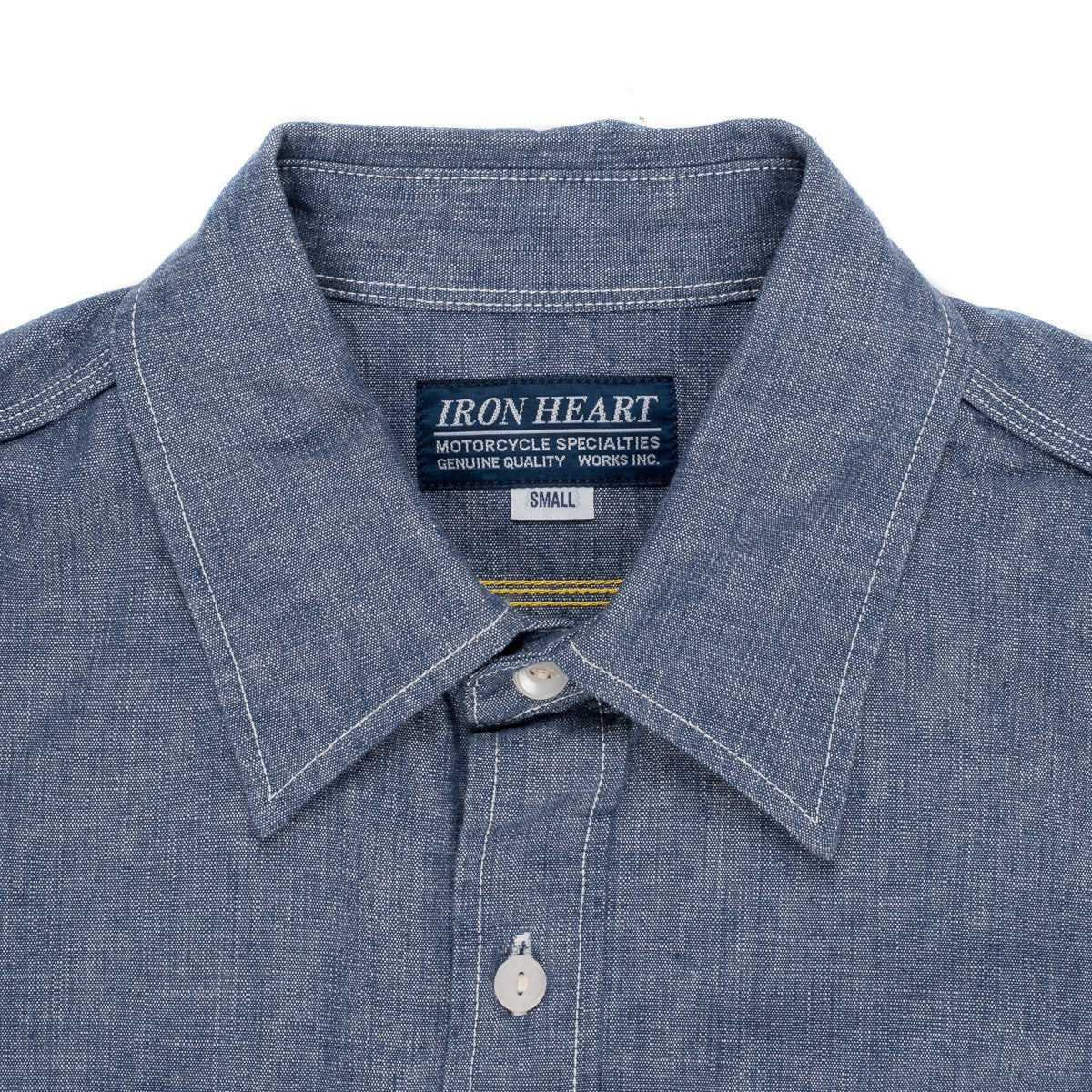 Iron Heart - IHSH21 Chambray 10oz