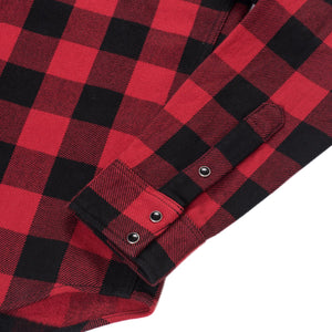 Iron Heart - IHSH-232-Red Buffalo Check Western