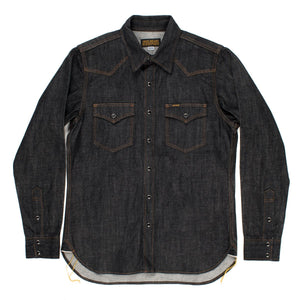 Iron Heart - IHSH-33 Black 12oz denim