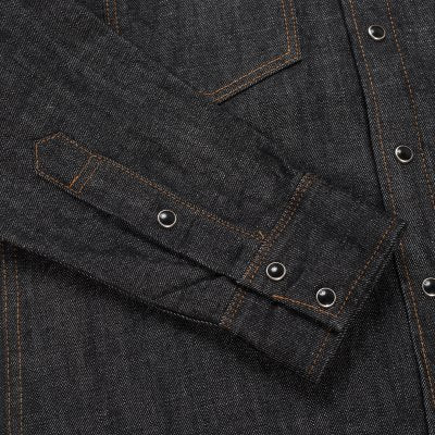 Iron Heart - IHSH33 Black 12oz denim