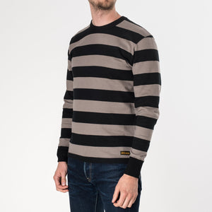 Iron Heart - IHTB01 grey/black Sweater