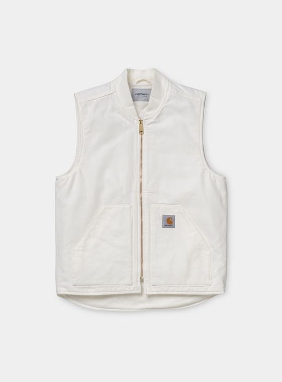 Carhartt WIP - Canvas vest Wax/off-white