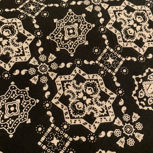 Iron Heart - Black Bell print Bandana