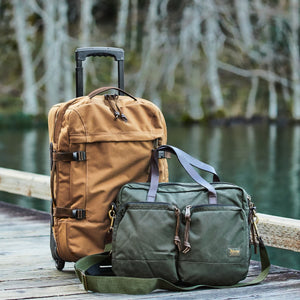 Filson - Bag, Dryden Rolling 2-Wheel Carry-On, Navy
