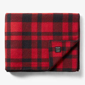 Filson - Blanket, Mackinaw Wool, Red/Black
