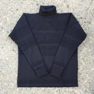 S.N.S - Fisherman Sweater (Navy blue)