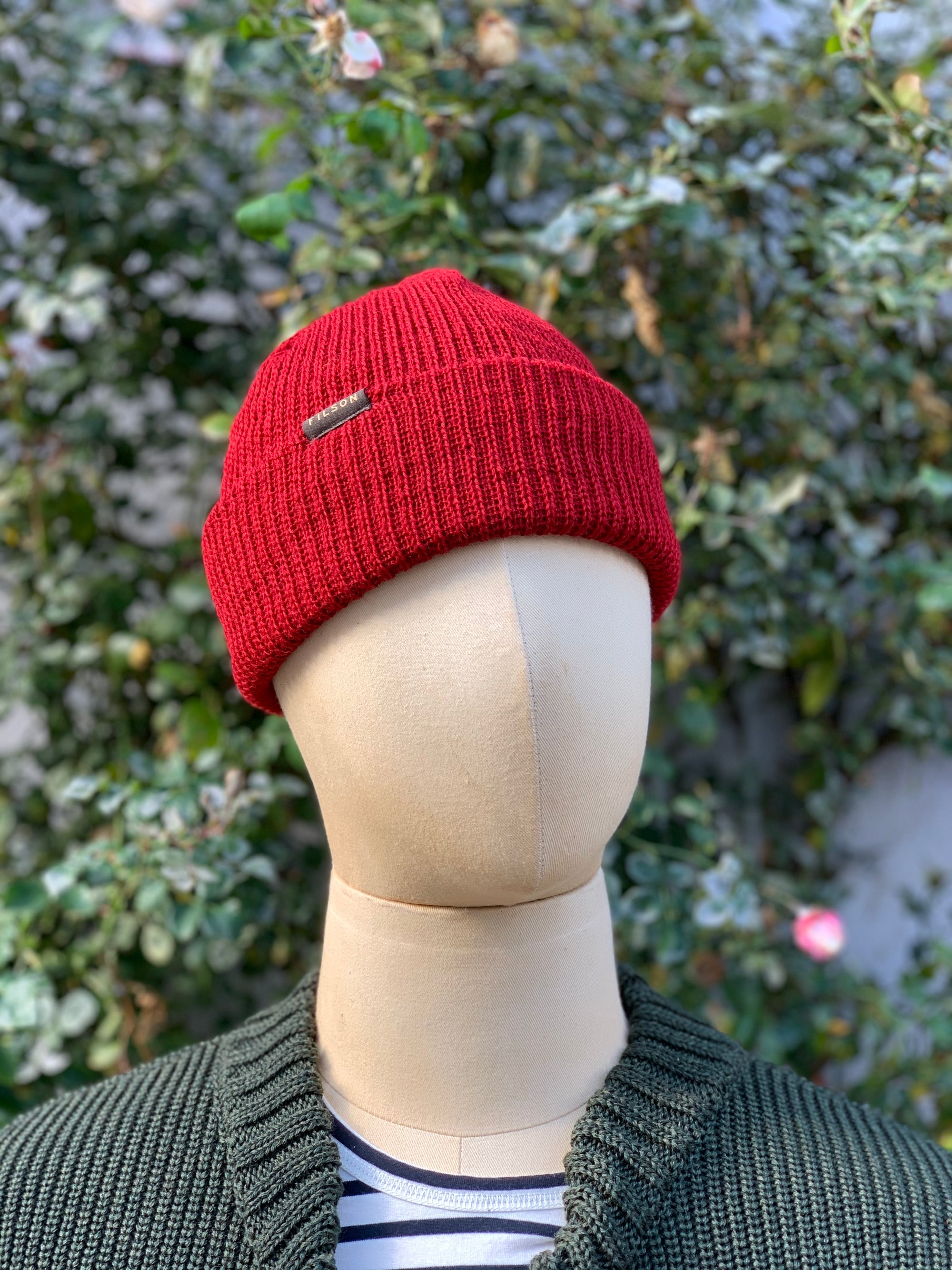 Filson - Watch Cap Red
