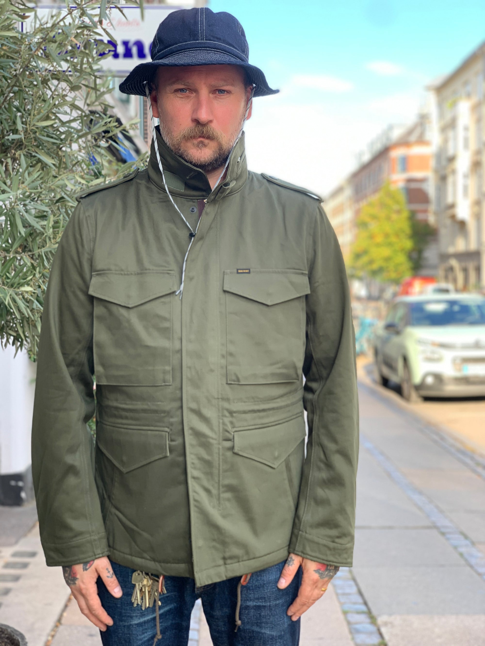 Iron Heart - IHM-27 Field Jacket Olive